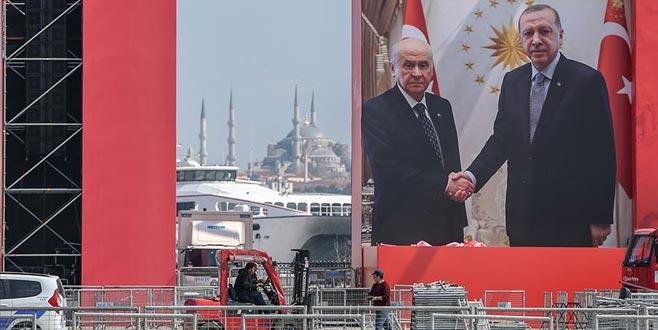 Cumhur İttifakı'ndan 'Büyük İstanbul Mitingi'
