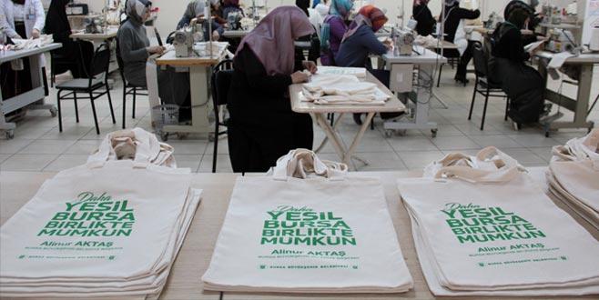 Yerel seçimin promosyonu 'bez çanta' oldu