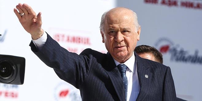 Bahçeli: İstanbul'da PKK'ya geçit, FETÖ'ye müsamaha yoktur