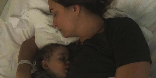Bursalı oyuncu: İki gündür oğlumla hastanedeyim çünkü bakacak kimse yok!