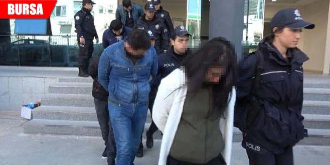 Bursa'da uyuşturucu çetesine operasyon: 18 gözaltı