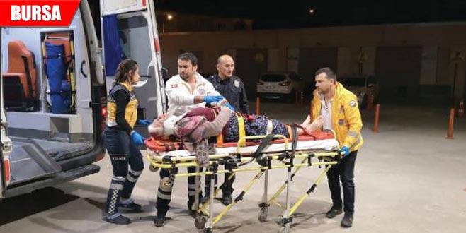 Balkondan düşen kadın ağır yaralandı