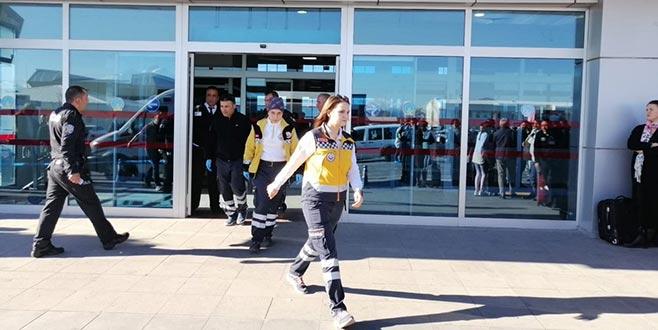 Kayseri Havalimanı'nda silah sesleri: Polisler birbirini vurdu