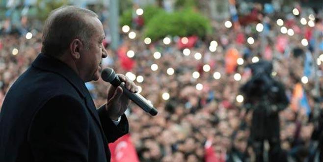 Cumhurbaşkanı Erdoğan: 'Meşru olmayan yollara tevessül ediyorlarmış