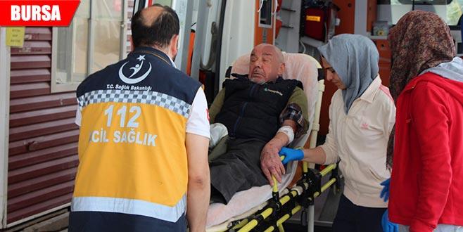83 yaşındaki adam ölümden döndü