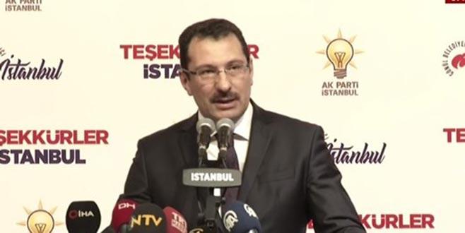 AK Parti'den İstanbul ile ilgili açıklaması