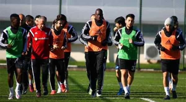 Beşiktaş'ta Çaykur Rizespor maçı hazırlıkları başladı