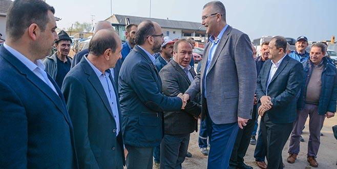 Başkan Özkan'dan ortak akılla gelecek vurgusu