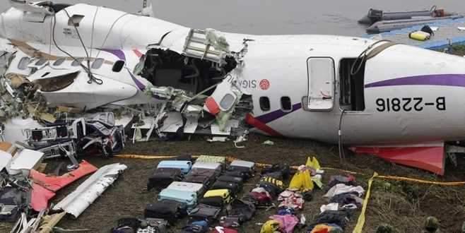 Tayvan'daki uçak kazasıyla ilgili şok detay