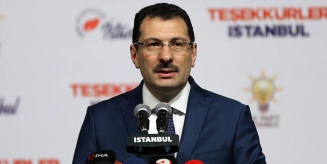 AK Parti'den 'İstanbul' açıklaması