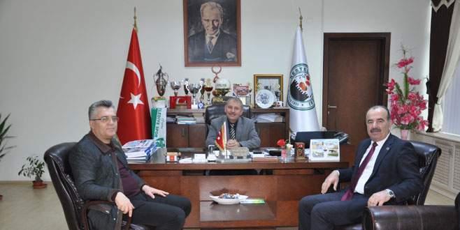 Türkyılmaz'dan Acar'a ziyaret