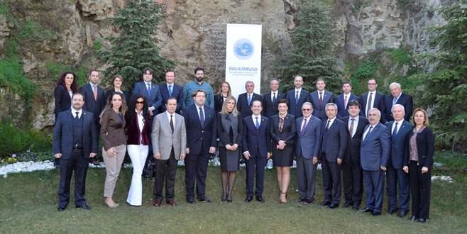 11 Balkan ülkesinin ticaret ataşesi Bursa'da buluştu