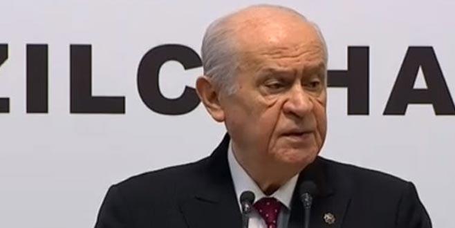 MHP lideri Bahçeli'den flaş açıklamalar