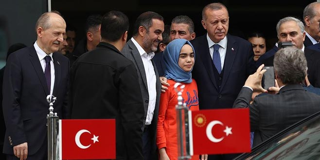 Erdoğan'dan Fatih Belediyesi'ne ziyaret