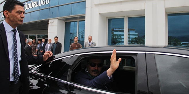 Emniyet Müdürü Osman Ak Bursa'ya veda etti