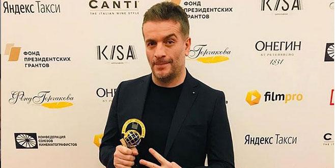 Rusya'da ödül aldı