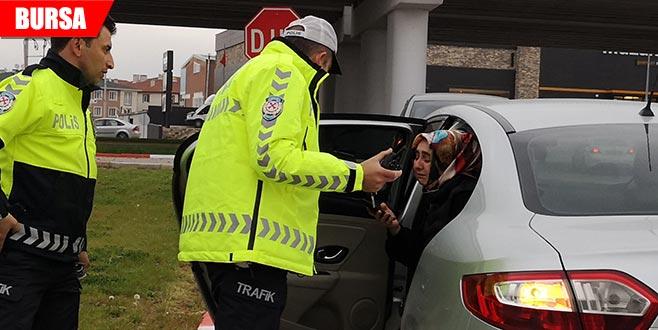 Kadın sürücü kazanın şokuyla ağladı, yaralı tedaviyi reddetti