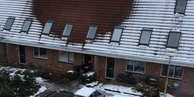 Çatısında kar olmayan evlerin ihbar edilmesi istendi