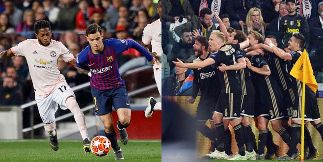 Barcelona ve Ajax yarıfinalde