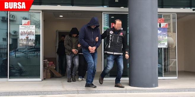 Bursa dışından getirip satacaklardı: 3 gözaltı