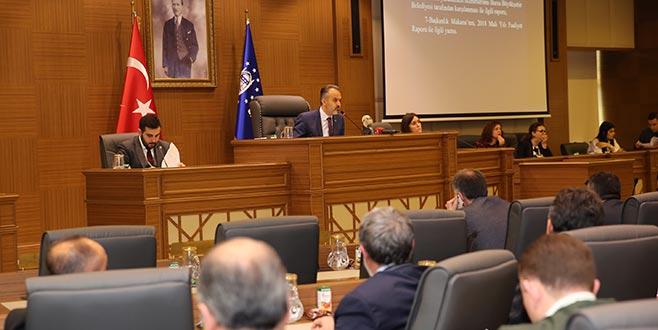 Büyükşehir Meclis'te faaliyet raporu görüşüldü