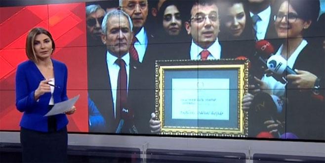 CNN Türk yayınında İmamoğlu ile ilgili skandal hata!