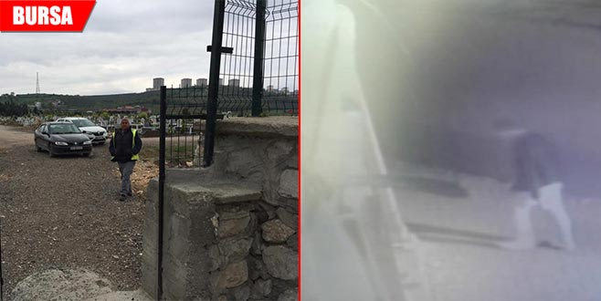 Mezarlığın kapısını caminin musluklarını çaldılar