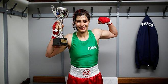 İranlı kadın boksör ülkesine dönmeyecek