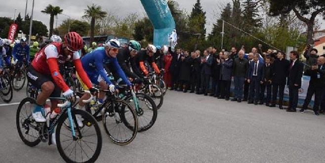 Cumhurbaşkanlığı Bisiklet Turu! Bisikletçiler Balıkesir-Bursa etabında