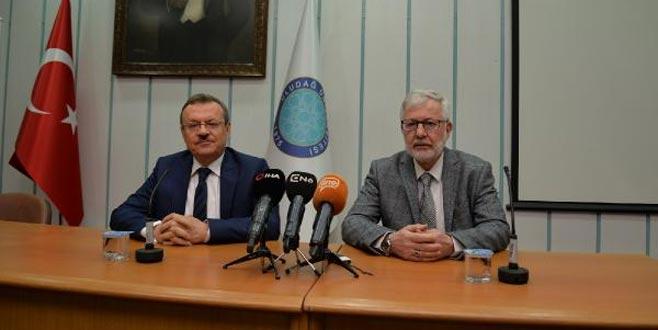Uludağ Üniversitesi'nde devir teslim gerçekleşti! Yeni rektörden ilk açıklama