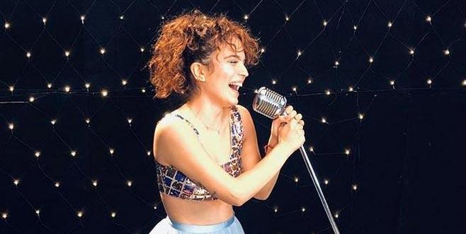 'Çocukluk hayalim şarkıcı olmak'