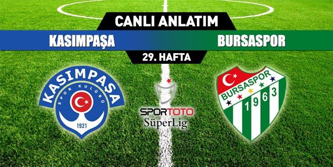 Kasımoaşa 0-0 Bursaspor (İlkyarı Sonucu)