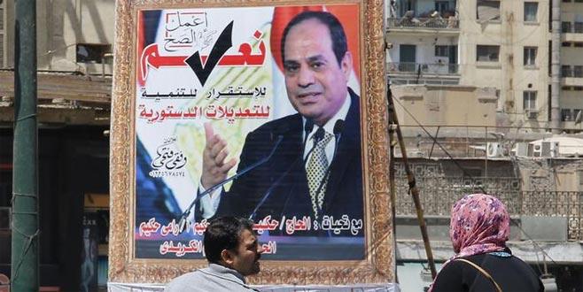 El Sisi daha çok yetki istiyor