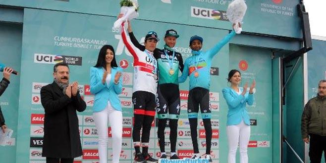 Bisiklet turu Bursa-Kartepe etabında kazananlar belli oldu!