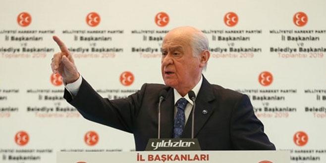 Bahçeli: İstanbul'da seçimin tekrarı beka meselesidir