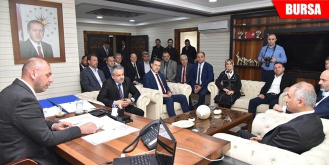 AK Parti heyetinden Cumhur İttifakı'nın belediye başkanlarına ziyaret