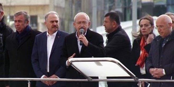 Saldırıya uğrayan Kılıçdaroğlu'ndan açıklama