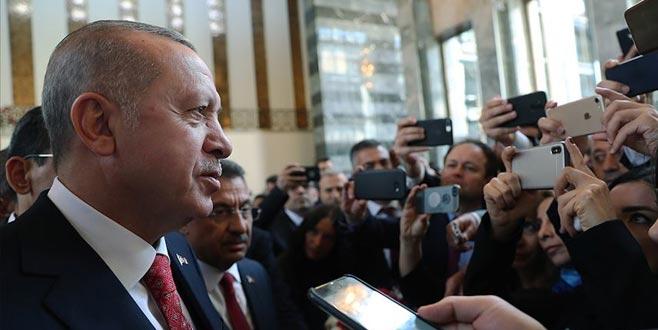 Erdoğan'dan kabine değişikliği iddiasıyla ilgili açıklama