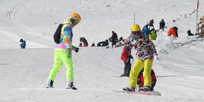 Son 4 yılın en uzun kayak sezonunu geçiriyor