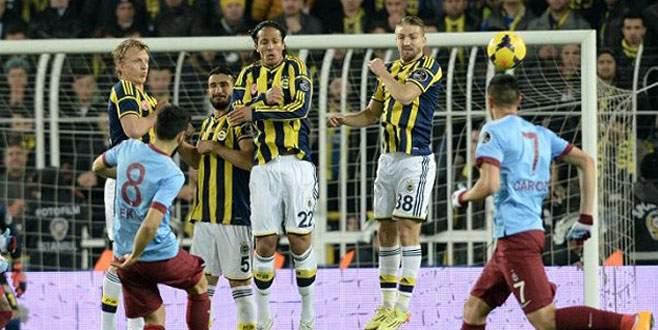 Fenerbahçe Trabzonspor'la berabere kaldı