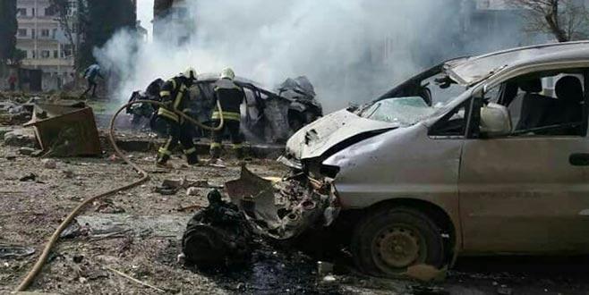 İdlib'de patlama:17 ölü
