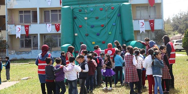 Kızılay'dan renkli çocuk festivali