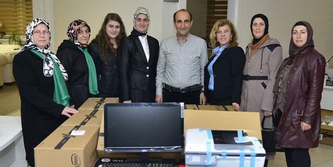Bosna'ya Yıldırım'dan yardım eli