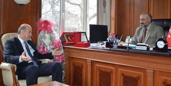 Torun'dan Mehmet Emin Ay' a ziyaret