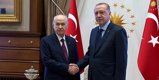 Erdoğan bugün Bahçeli ile görüşecek