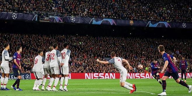 Barça Liverpool'u farklı yendi! Messi 600 gole ulaştı...