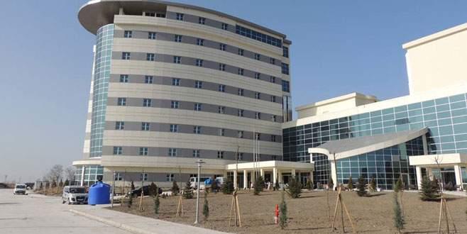 Yeni hastanede sona doğru