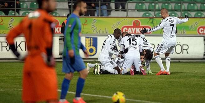 Beşiktaş yeniden zirvede