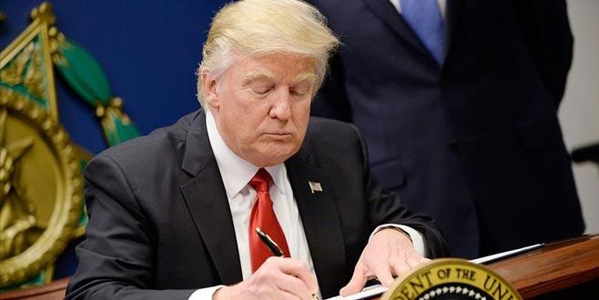 Trump imzayı attı! Tansiyon yükseliyor