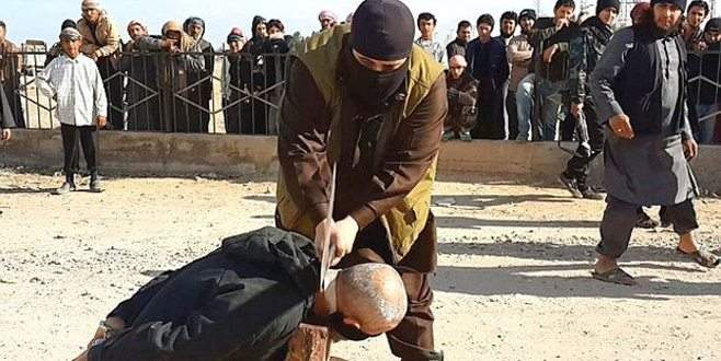IŞİD'den kan donduran infaz